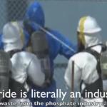 Fluoride Eats Through Concrete