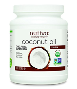 Nutiva 100% Organic Extra Virgin Coconut Oil 1.6 ltr